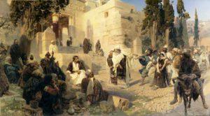 Поленов Христос и грешница 1888