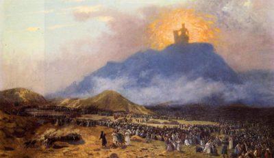 Жан-Леон Жером Моисей на горе Синай