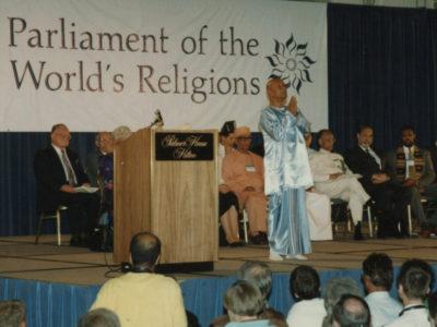 Шри Чинмой Парламент Религий Мира Чикаго США 1993