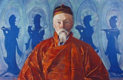Святослав Рерих Портрет Н.К.Рериха 1928