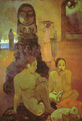 Поль Гоген Великий Будда 1899