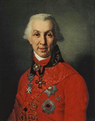 В.Л.Боровиковский Портрет Г.Р.Державина 1811