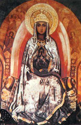 Николай Рерих Царица Небесная 1910