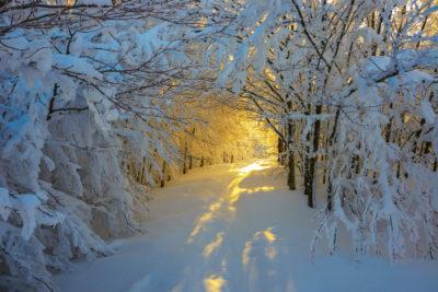 Белый снег над мирозданьем