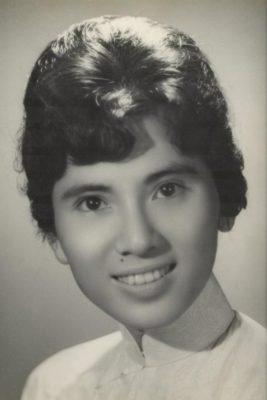 Мать Тереза Агнес Гондже Бояджиу в молодости