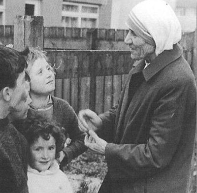 Мать Тереза Белфаст Северная Ирландия 1971