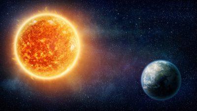 Космос Солнце