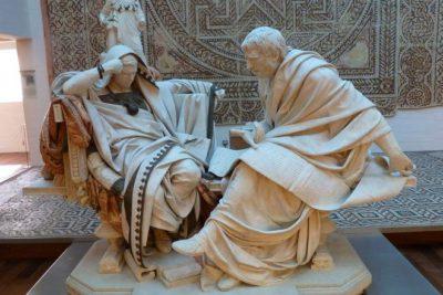 Эдуардо Баррон Скульптурная группа Сенека и Нерон